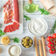 Assortment of Italian foods - PhotoDune Item for Sale