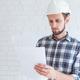 Construction renovation engineer reading documents - PhotoDune Item for Sale