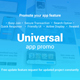 Universal App Promo 60 fps - VideoHive Item for Sale