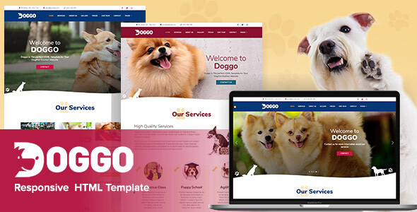 Doggo - Responsive HTML5 Template