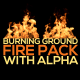 Burning Ground Fire Pack - VideoHive Item for Sale