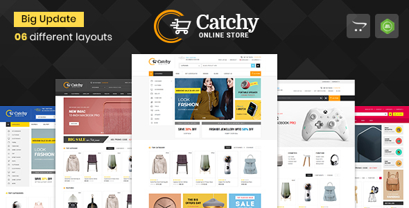 Catchy - Multipurpose OpenCart 3 & 2 Theme