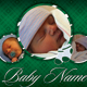 Green Baby Boy Card - GraphicRiver Item for Sale