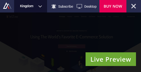 Live Preview Switch Bar for WordPress