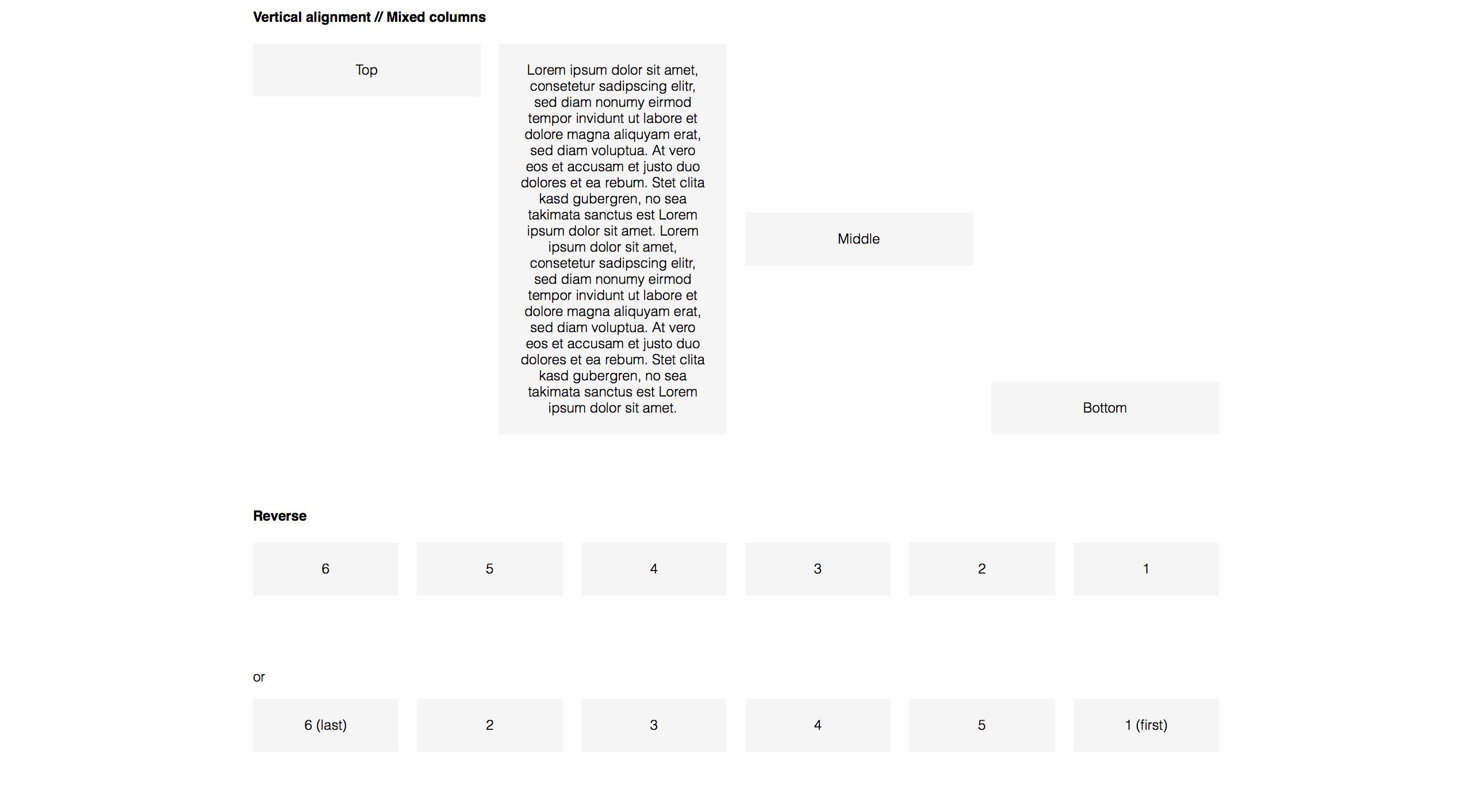 Responsive CSS Flexbox Grid
