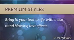 Premium Styles