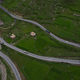 Drone shots of the road - PhotoDune Item for Sale