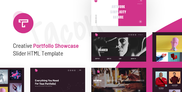 Tacon - A Showcase Portfolio HTML Template