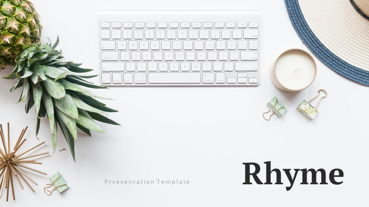 Rhyme - Creative PowerPoint Template