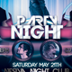 Party Night Flyer Template - GraphicRiver Item for Sale