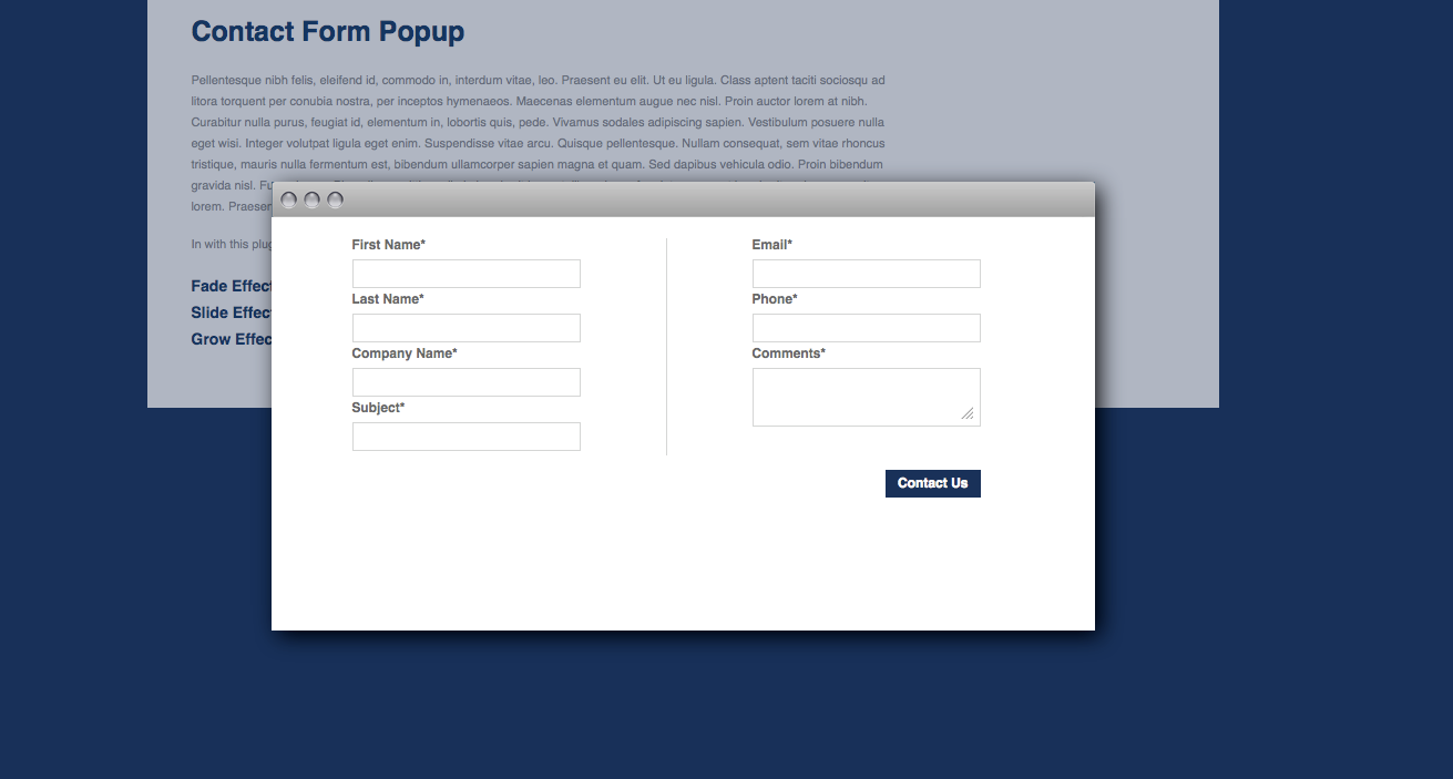jquery pop up form anta expocoaching co