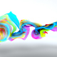 Colorful Particles Flowing Logo - VideoHive Item for Sale
