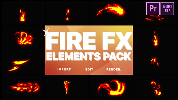 Flash FX Fire Elements