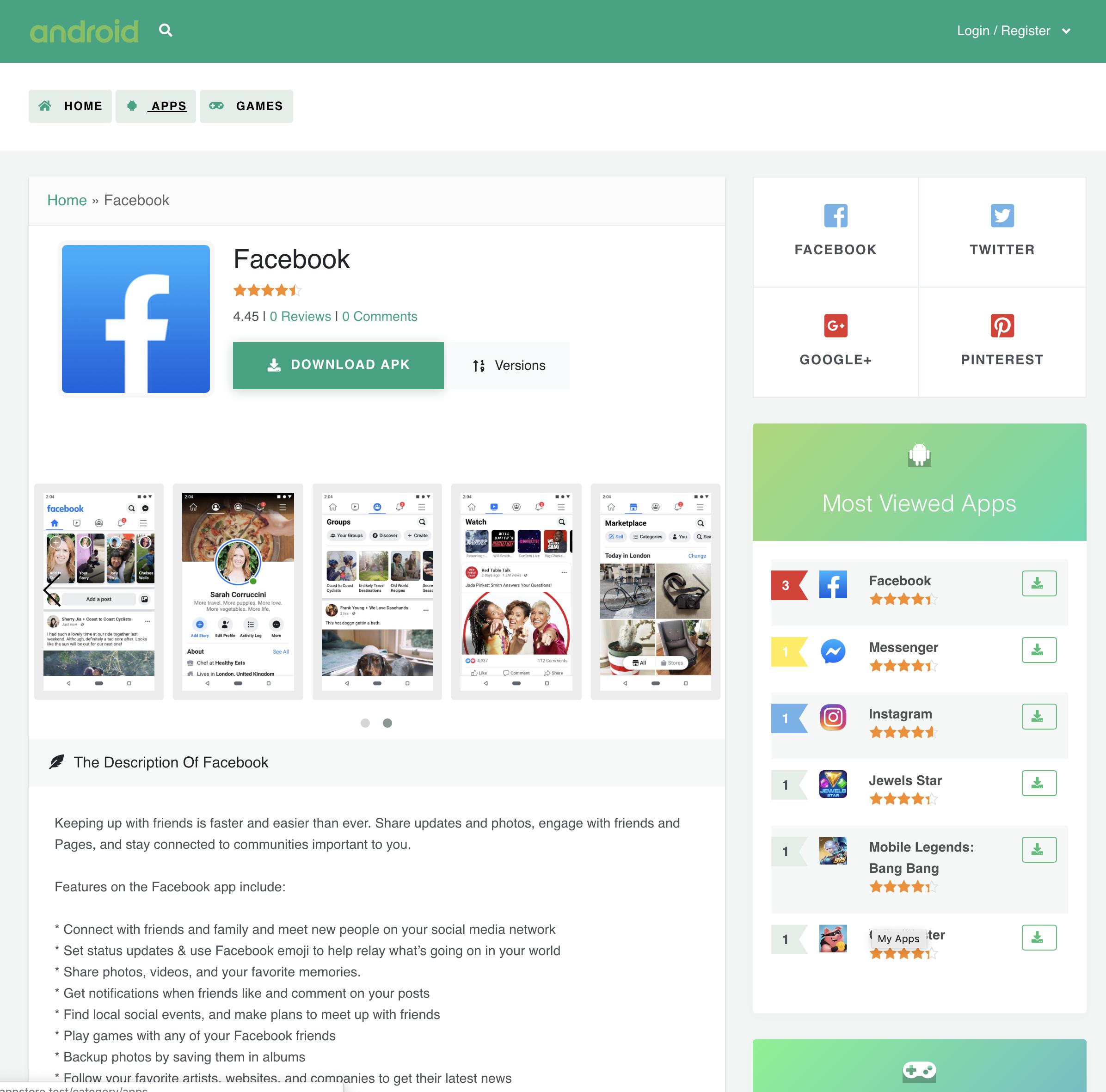 Google Play App Store [CMS] 2 0