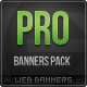 Pro Banners Pack - GraphicRiver Item for Sale