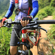 Cross country cyclist with mountain bike in the forest - PhotoDune Item for Sale