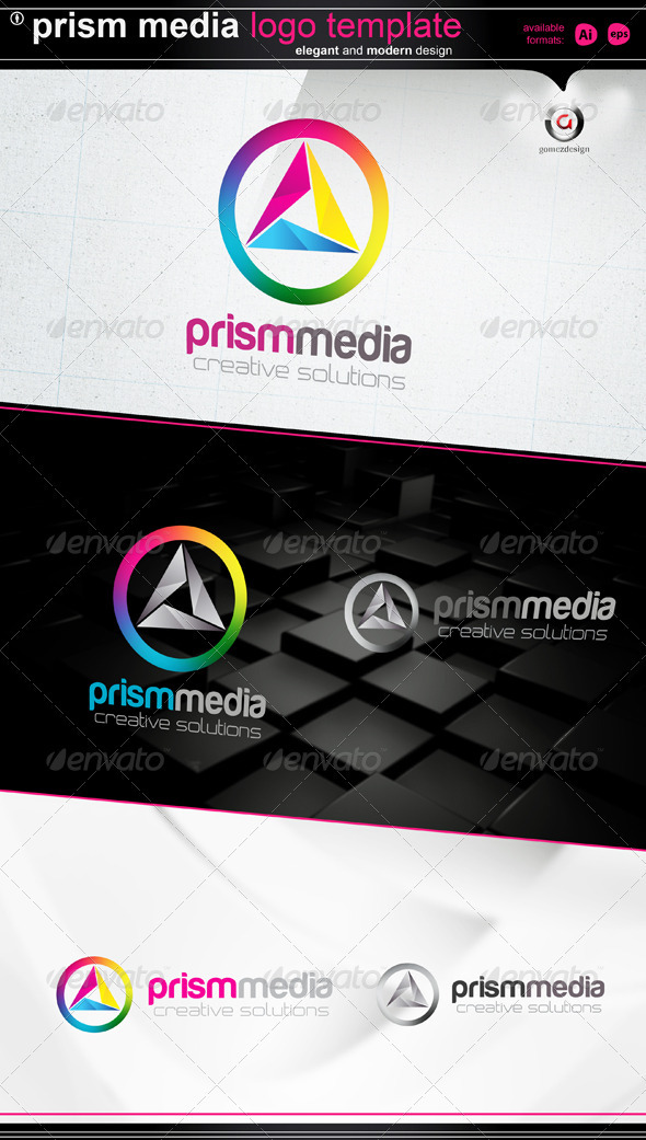 prism media - Logo Templates