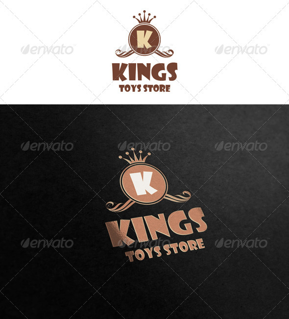 Kings - Toys Store - Crests Logo Templates