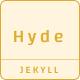 Hyde | Minimal Blog Theme
