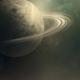 Rings of Saturn illustration in space - PhotoDune Item for Sale