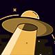 UFO Space Shuttle Fly