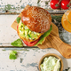 Vegan burger with carrot - PhotoDune Item for Sale