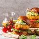 Vegan burgers with carrot - PhotoDune Item for Sale