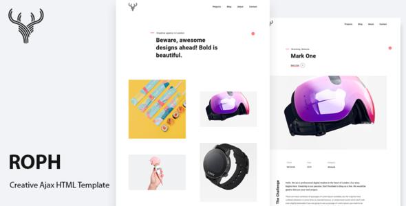 Roph - Creative Ajax Portfolio Bootstrap Template