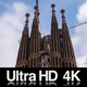 4K Sagrada Familia Barcelona Time Lapse of Construction - VideoHive Item for Sale