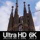 6K Sagrada Familia Barcelona Time Lapse of Construction - VideoHive Item for Sale