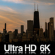 6K Chicago Lakefront Sunrise Time-Lapse - VideoHive Item for Sale