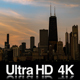 4K Chicago Lakefront Sunrise Time-Lapse - VideoHive Item for Sale