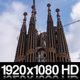 Sagrada Familia Barcelona Time Lapse of Construction - VideoHive Item for Sale