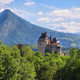 Scenic view Chateau de Menthon (Menthon Castle), France - PhotoDune Item for Sale