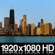 Chicago City Sunrise On Cloudless Morning - VideoHive Item for Sale