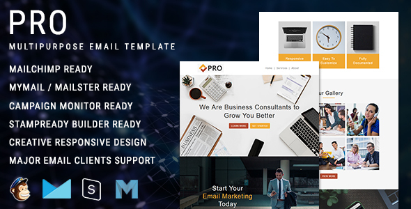Pro - Multipurpose Responsive Email Newsletter Template