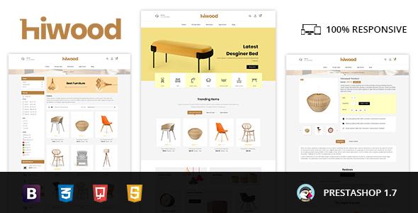 Hiwood - Furniture & Home Decor Prestashop Theme