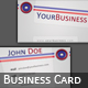 'Roundstripe Wrapper' Business Card - GraphicRiver Item for Sale