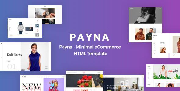 Payna - Minimal eCommerce HTML Template