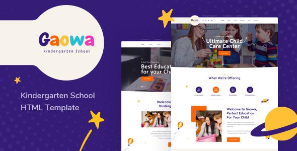 Children Bootstrap 4 Templates | Bootstrap4