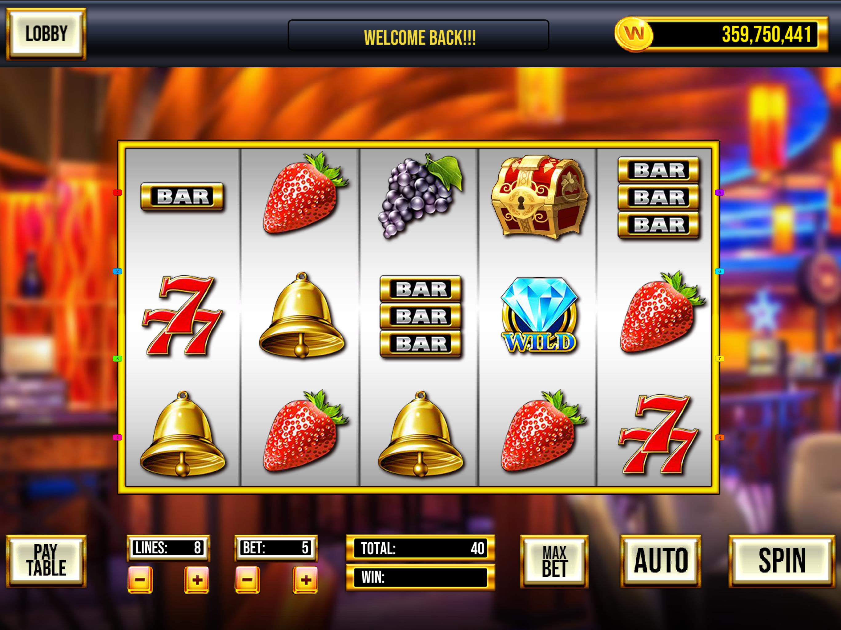 Slot Machine- Combo 3 In 1 Unity Casino Game