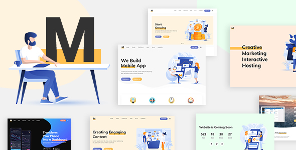Download Milu – Tech and App Landing Page Theme Free Nulled