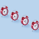 Classic red clocks - PhotoDune Item for Sale
