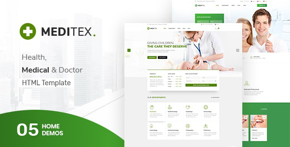 Meditex - Health and Medical HTML Template by SteelThemes