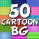 50 Cartoon Backgrounds - VideoHive Item for Sale