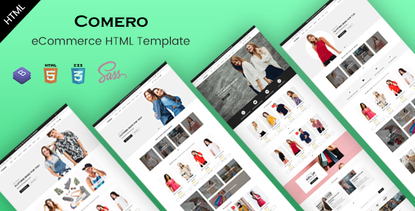 Retail Bootstrap 4 Templates | Bootstrap4
