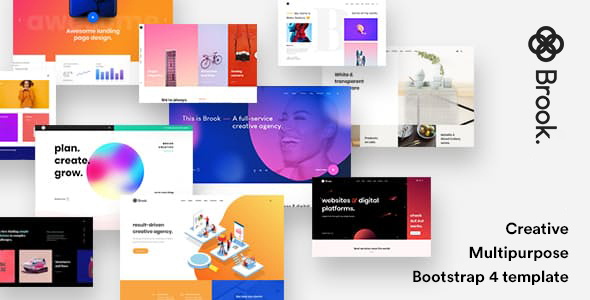 Brook - Creative Agency & Business HTML Template