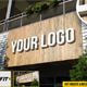 Wooden Store Logo Mockups
