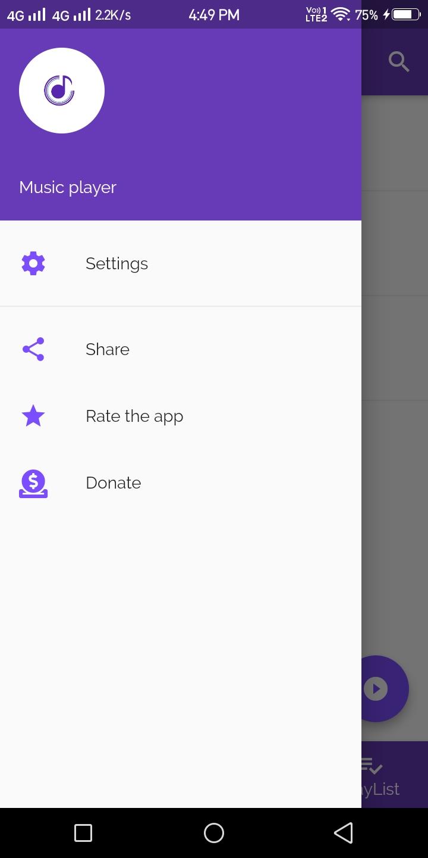 Flutter App-Music Player