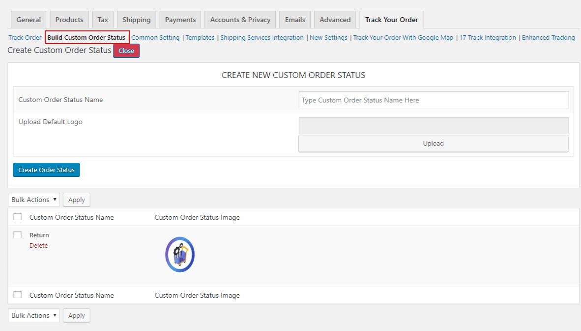 WooCommerce Order Tracker